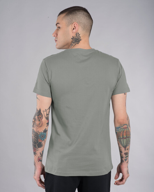 Shop Bunny Window Half Sleeve T-Shirt (LTL)-Back