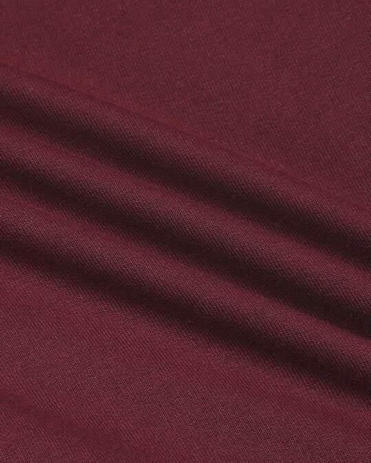 Shop Burgundy Casual Shorts