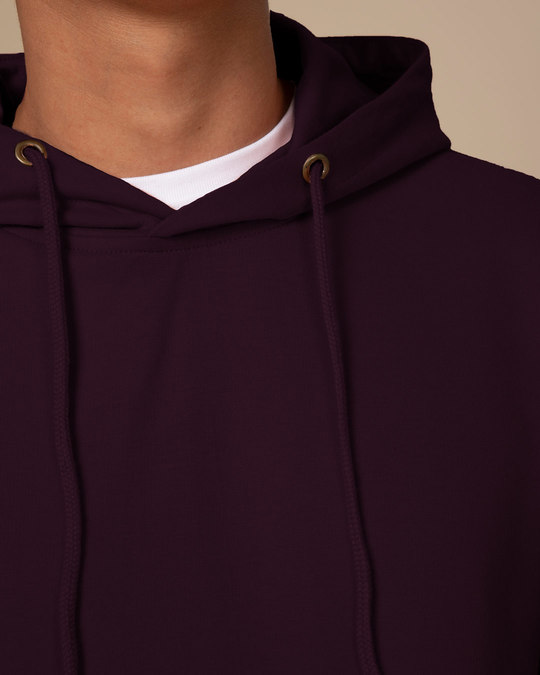 Shop Burgundy Fleece Hoodies