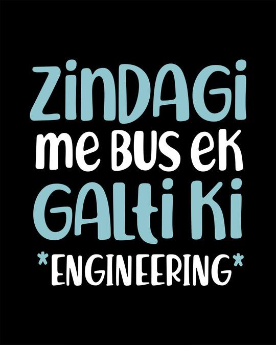 Shop Bus Ek Galti Full Sleeve T-Shirt