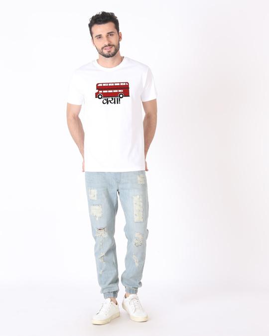 Shop Bus Kya Half Sleeve T-Shirt