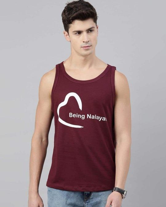 Shop Being Nalayak Maroon Vest-Back