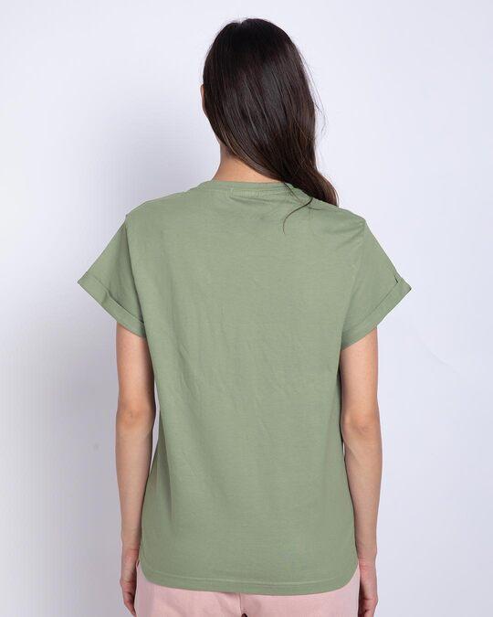 Shop Busy Doin Nothing Boyfriend T-Shirt (DL)-Back