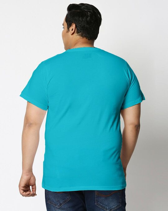 Shop Busy Doin Nothing Half Sleeve Plus Size T-Shirt-Back