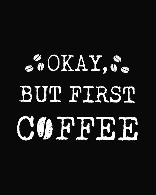 Shop But First, Coffee Boyfriend T-Shirt