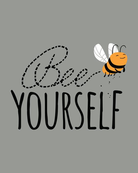 Shop Buzzing Bee Yourself Boyfriend T-Shirt