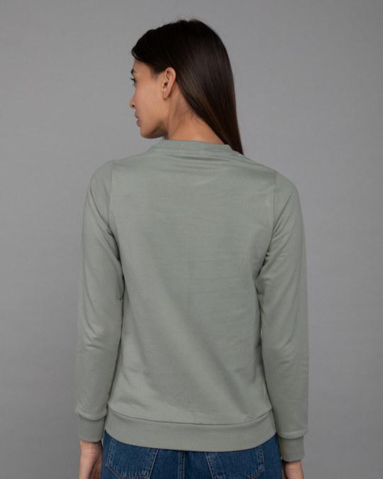 Shop Buzzing Bee Yourself Fleece Sweater-Back