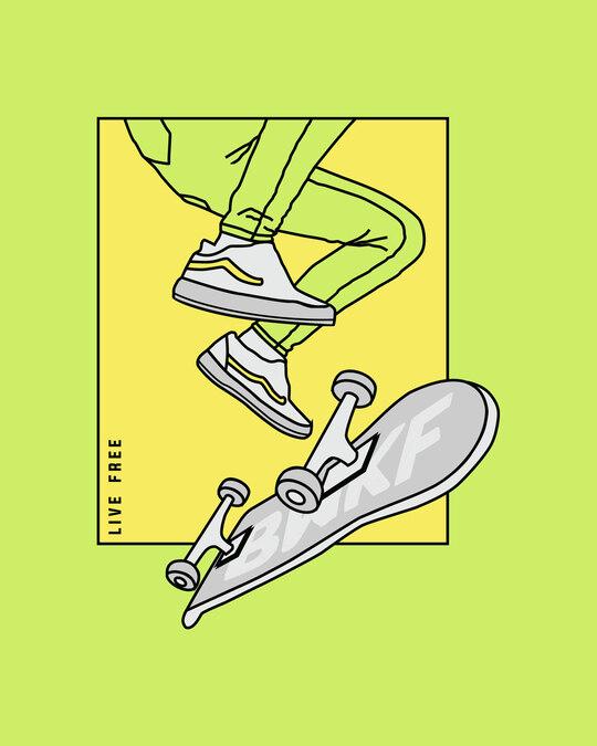 Shop BWKF Skateboard Fleece Sweater-Full