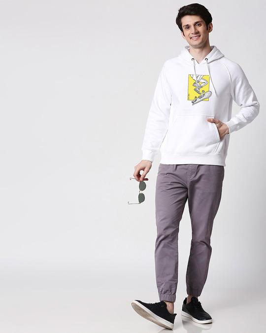 Shop BWKF Skateboard Printed Hoodie Sweatshirt AW20 (TJL)-Design