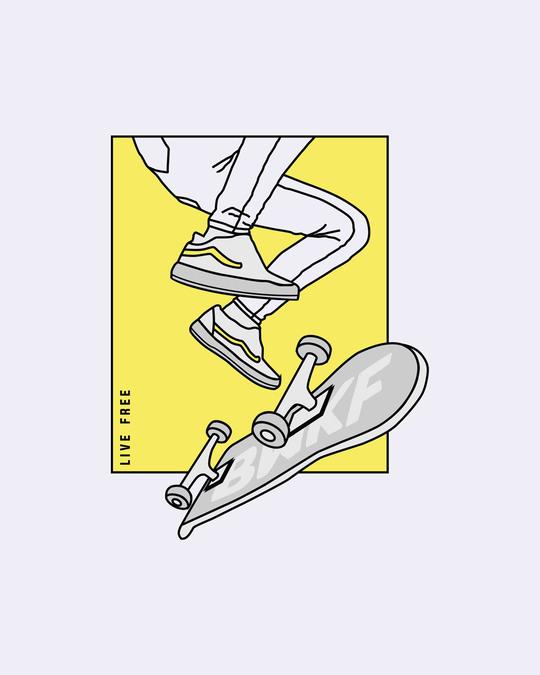 Shop BWKF Skateboard Printed Hoodie Sweatshirt AW20 (TJL)-Full