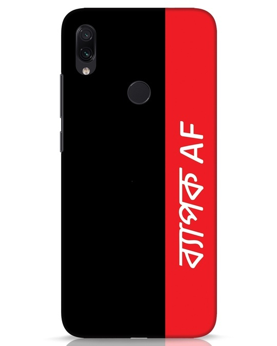 Shop Byapok Af Xiaomi Redmi Note 7s Mobile Cover-Front
