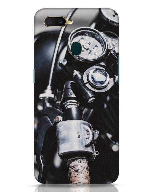 Shop Cafe Racer Oppo A7 Mobile Cover-Front