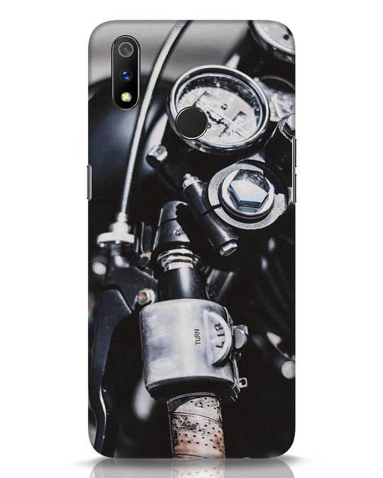 Shop Cafe Racer Realme 3 Pro Mobile Cover-Front
