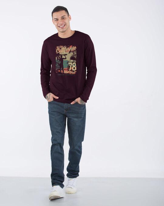 Shop California 78 Full Sleeve T-Shirt-Design