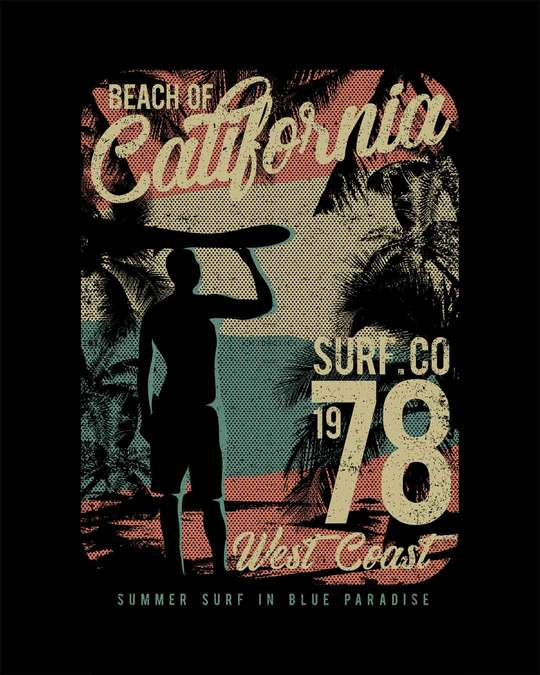 Shop California 78 Round Neck 3/4th Sleeve T-Shirt