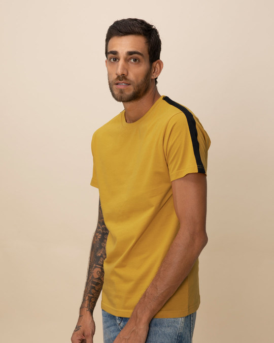 Shop Camaro Stripe Side Panel T-Shirt-Front