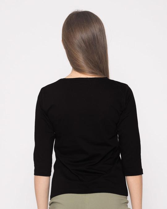 Shop Camo Beanie Round Neck 3/4th Sleeve T-Shirt-Full