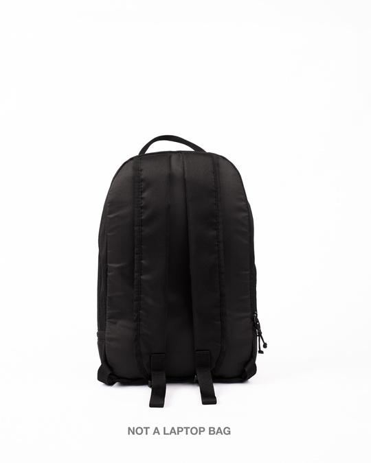 Shop Camo Canvas Printed Small Backpack Black-Design