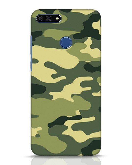 Shop Camouflage Huawei Honor 7A Mobile Cover-Front