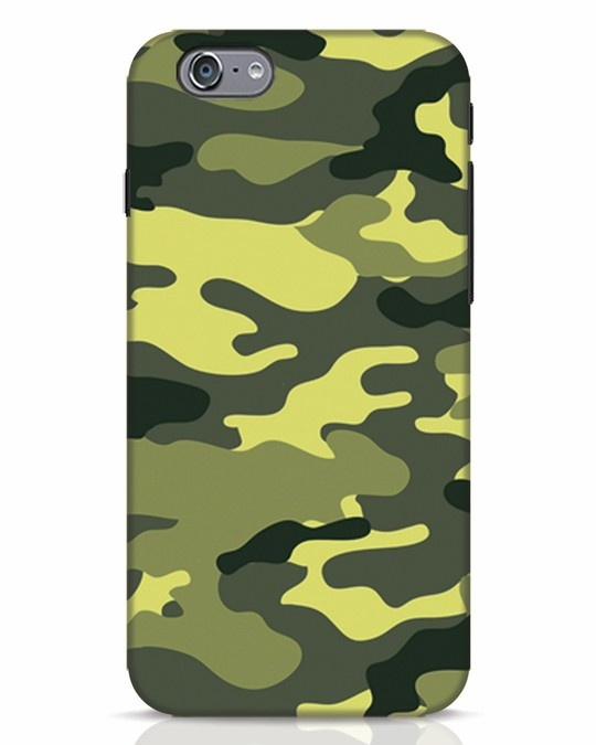 Shop Camouflage iPhone 6 Mobile Cover-Front