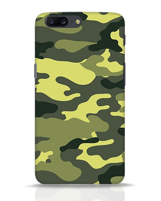 Shop Camouflage OnePlus 5 Mobile Cover-Front