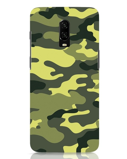 Shop Camouflage OnePlus 6T Mobile Cover-Front
