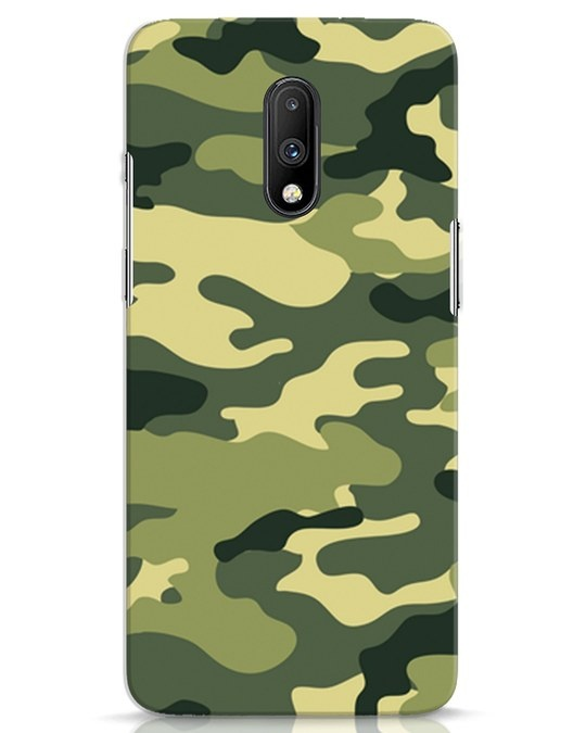 Shop Camouflage OnePlus 7 Mobile Cover-Front