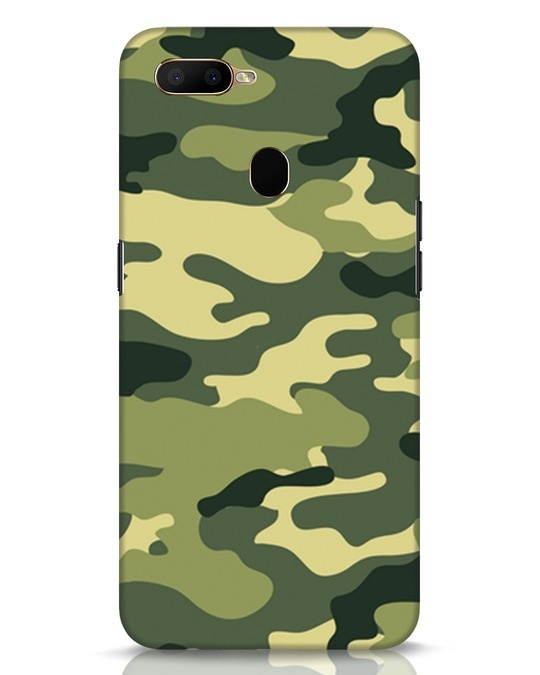 Shop Camouflage Oppo A5s Mobile Cover-Front