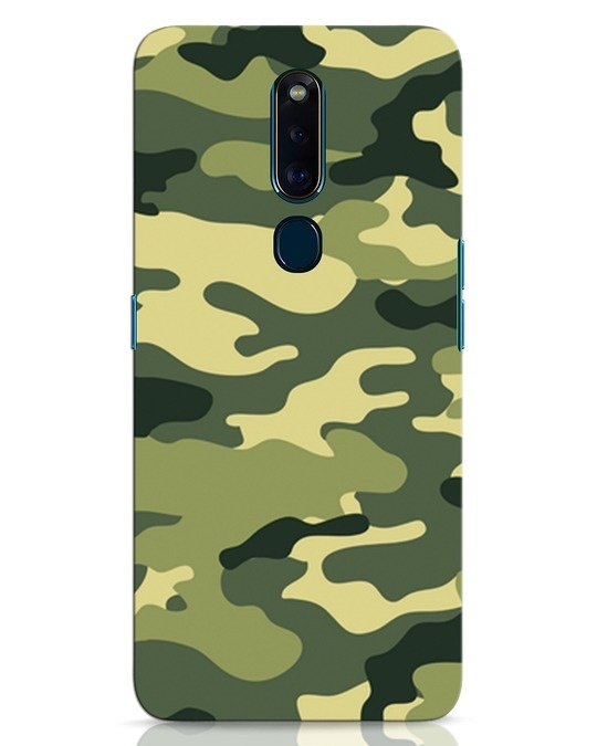 Shop Camouflage Oppo F11 Pro Mobile Cover-Front