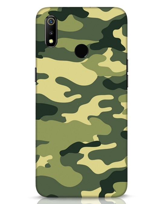 Shop Camouflage Realme 3 Mobile Cover-Front
