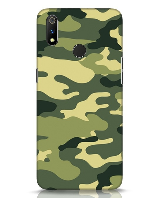 Shop Camouflage Realme 3 Pro Mobile Cover-Front