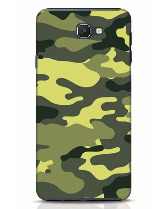 Shop Camouflage Samsung Galaxy J7 Prime Mobile Cover-Front