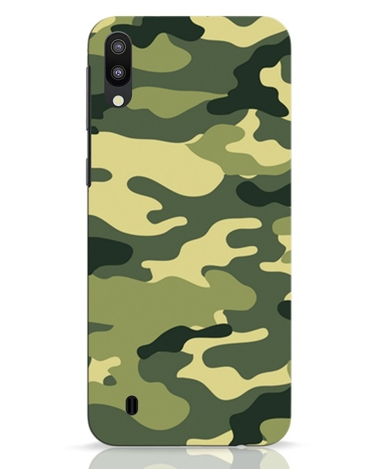 Shop Camouflage Samsung Galaxy M10 Mobile Cover-Front