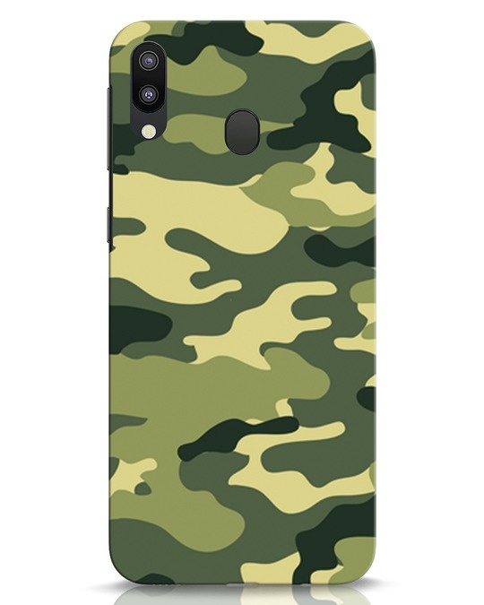 Shop Camouflage Samsung Galaxy M20 Mobile Cover-Front