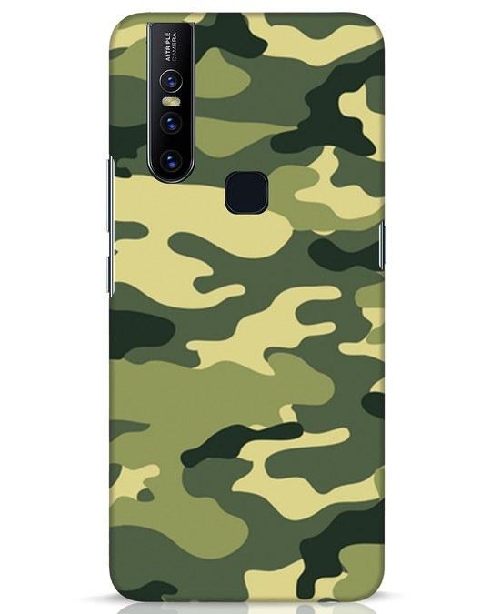 Shop Camouflage Vivo V15 Mobile Cover-Front