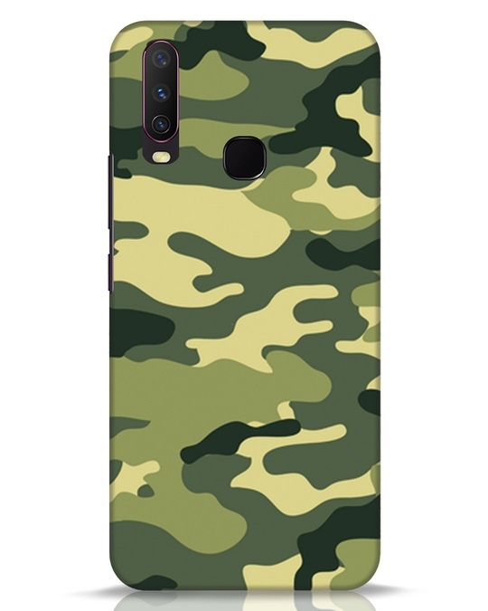 Shop Camouflage Vivo Y17 Mobile Cover-Front