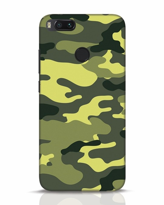 Shop Camouflage Xiaomi Mi A1 Mobile Cover-Front