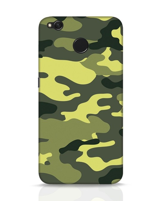 Shop Camouflage Xiaomi Redmi 4 Mobile Cover-Front