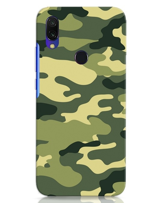 Shop Camouflage Xiaomi Redmi 7 Mobile Cover-Front