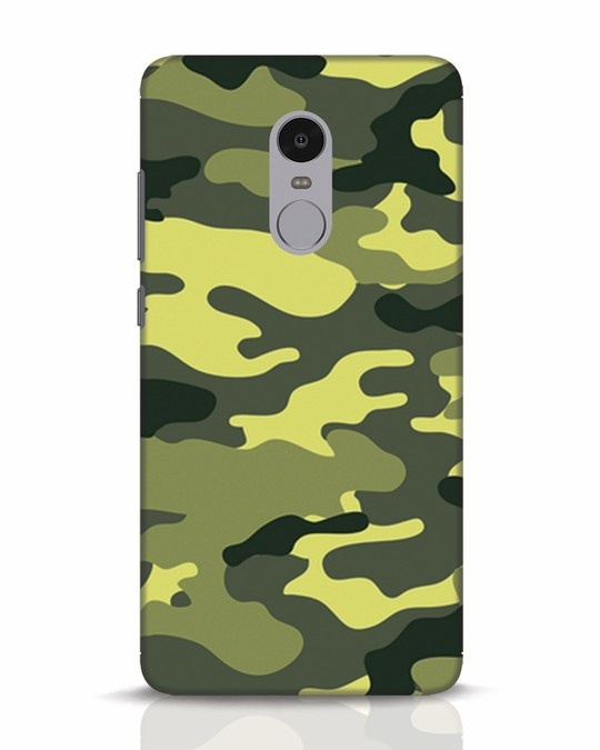 Shop Camouflage Xiaomi Redmi Note 4 Mobile Cover-Front