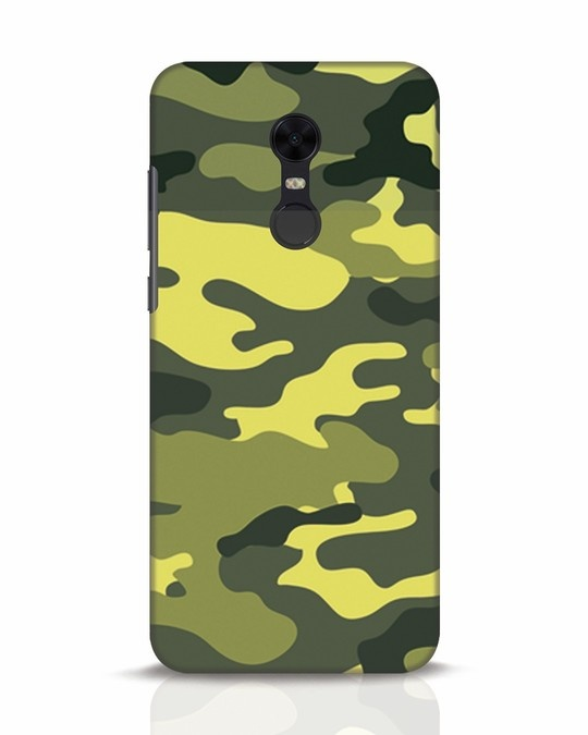 Shop Camouflage Xiaomi Redmi Note 5 Mobile Cover-Front