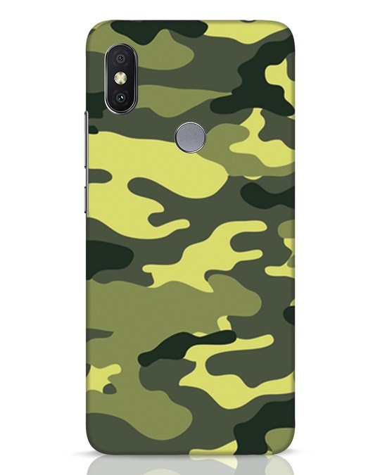 Shop Camouflage Xiaomi Redmi Y2 Mobile Cover-Front