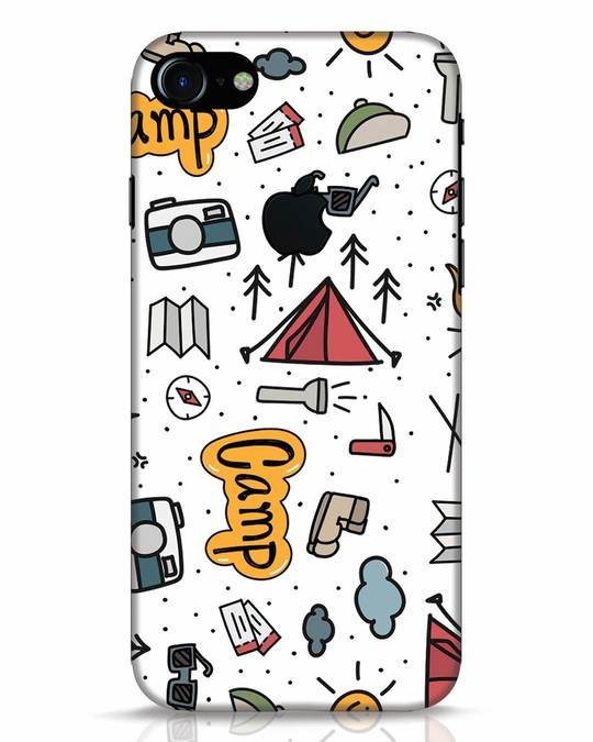 Shop Camp iPhone 7 Logo Cut Mobile Cover-Front