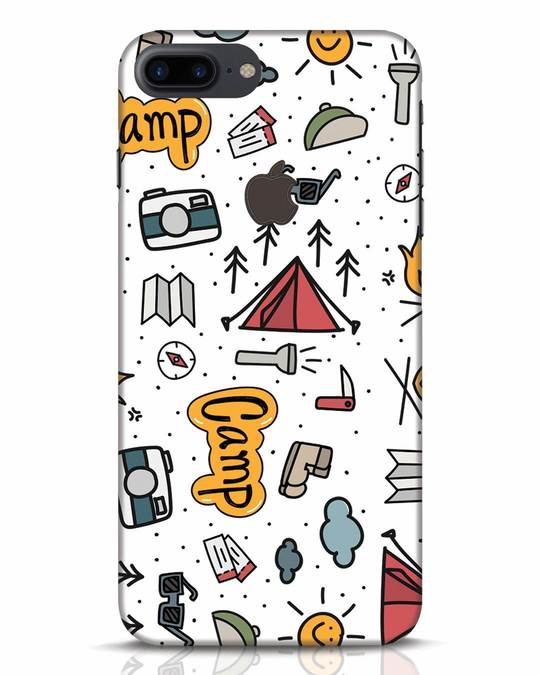 Shop Camp iPhone 7 Plus Logo Cut Mobile Cover-Front