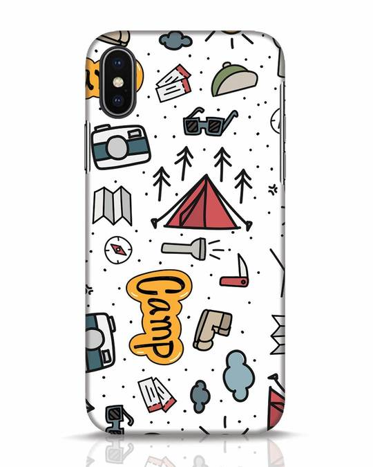 Shop Camp iPhone X Mobile Cover-Front