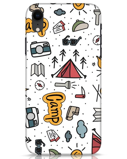 Shop Camp iPhone XR Mobile Cover-Front