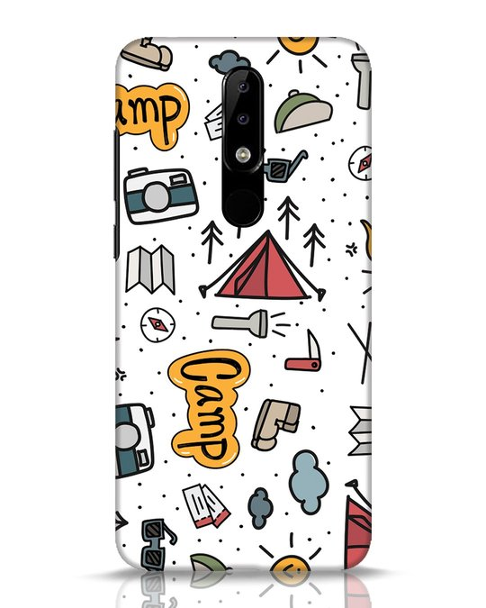 Shop Camp Nokia 5.1 Plus Mobile Cover-Front