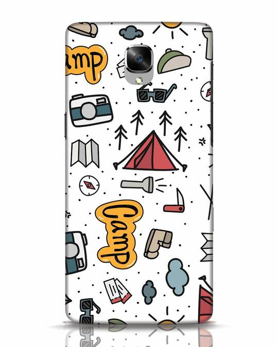 Shop Camp OnePlus 3 Mobile Cover-Front