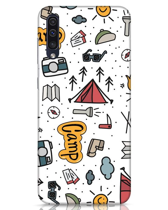 Shop Camp Samsung Galaxy A50 Mobile Cover-Front