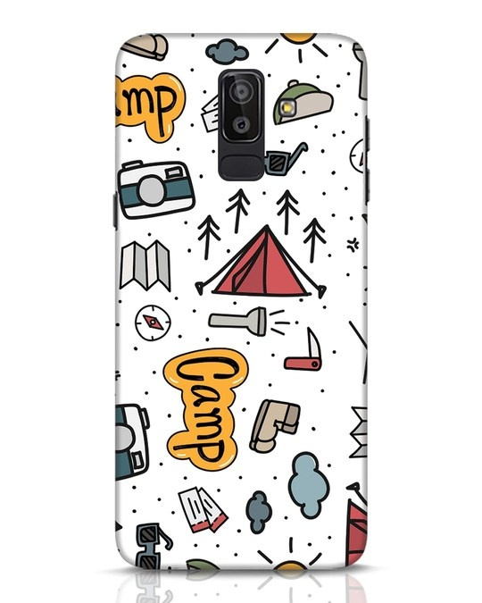 Shop Camp Samsung Galaxy J8 Mobile Cover-Front